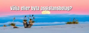 Välja eller byta assistansbolag